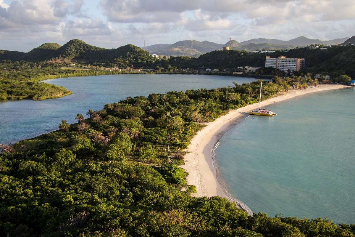 Antigua in the Caribbean