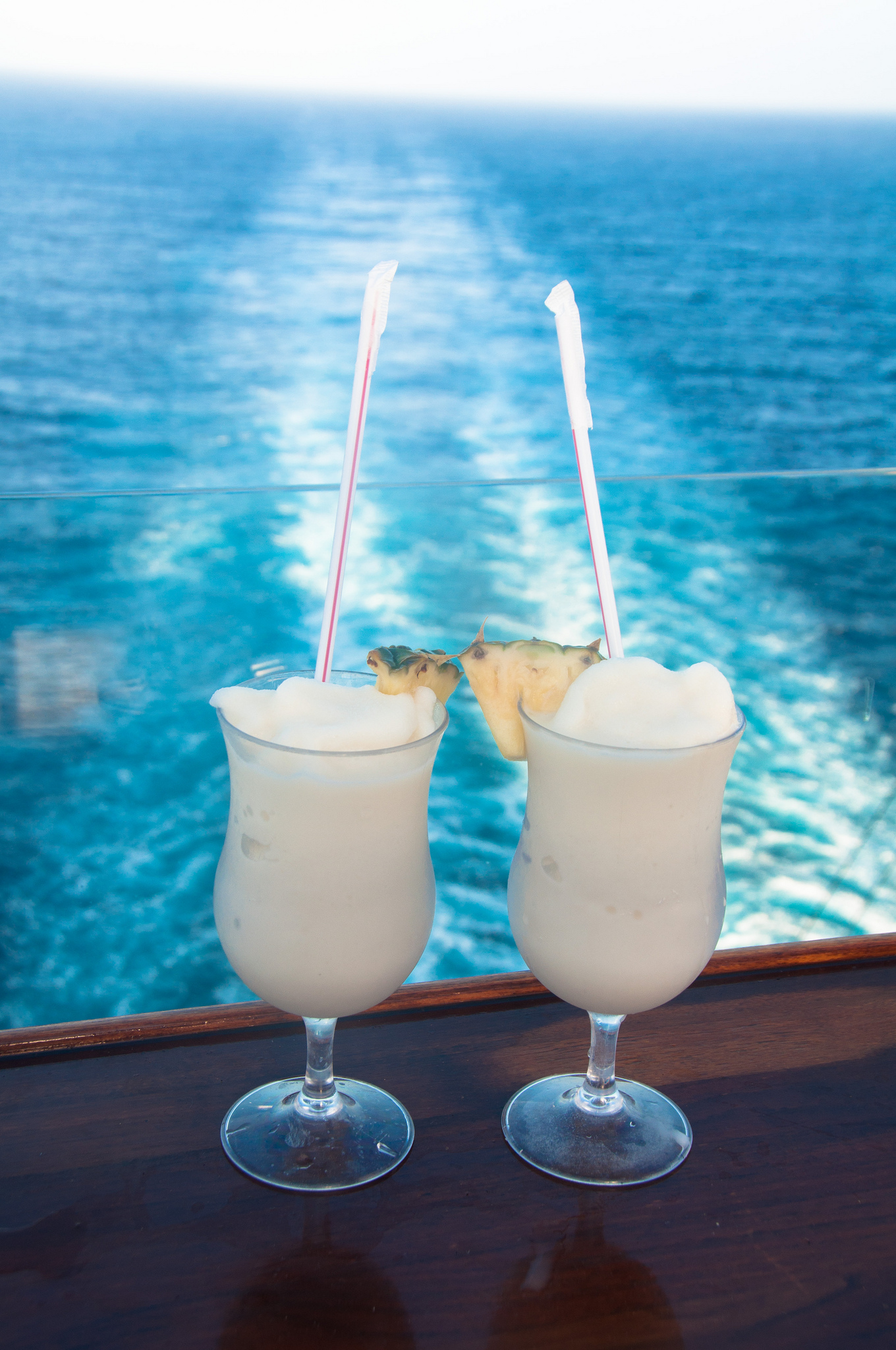 Cocktail on the cruise ship