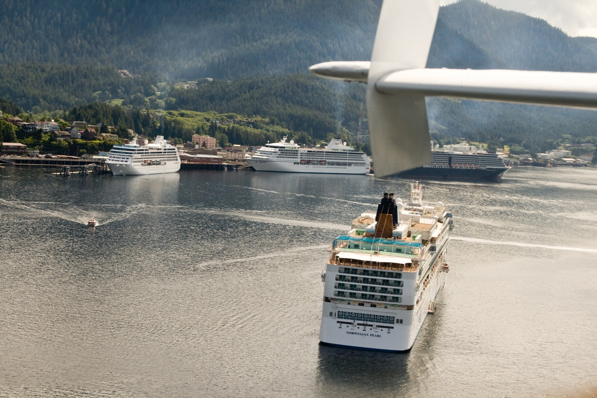High cruising season in Alaska